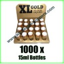 1000 x XL Gold poppers wholesale