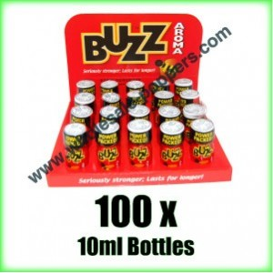 Buy Buzz Aroma Poppers x 100 bottles
