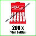 Hardcore Poppers Wholesale x 200 bottles
