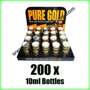 200 x Pure Gold wholesale poppers