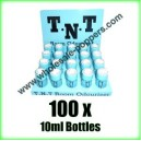 TNT Poppers wholesale x 100 x 10ml bottles