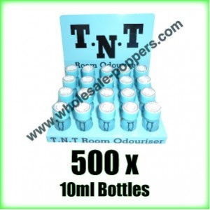 TNT Poppers wholesale x 500 x 10ml bottles