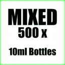 500 x Mixed wholesale Poppers 10ml bottles