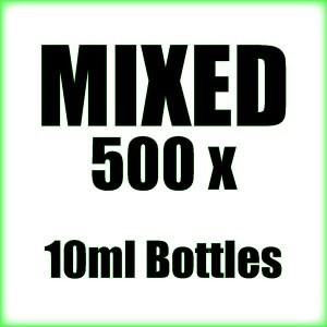 500 x 10ml Mixed wholesale Poppers