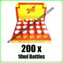 RUSH Poppers wholesale x 200 x 10ml bottles