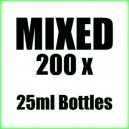 200 x Mixed wholesale Poppers 25ml bottles