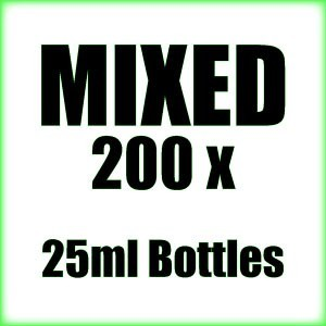 200 x 25ml Mixed wholesale Poppers
