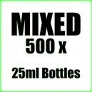 500 x Mixed wholesale Poppers 25ml bottles
