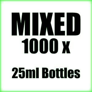 1000 x 25ml Mixed wholesale Poppers