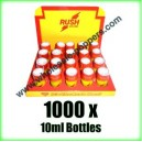 RUSH Poppers wholesale x 1000 x 10ml bottles