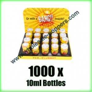 Buy BANG wholesale Poppers x 1000 bottles