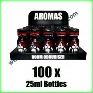 100 x BEARS OWN 25ml wholesale Poppers