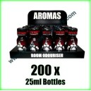 200 x BEARS OWN 25ml Mixed wholesale Poppers