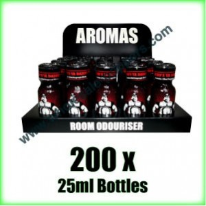200 x BEARS OWN 25ml wholesale Poppers