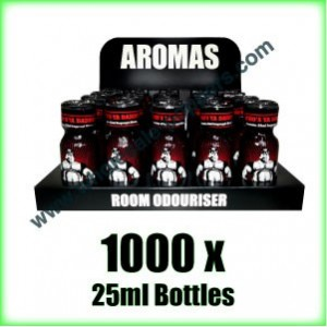 1000 x BEARS OWN 25ml wholesale Poppers