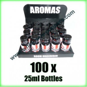 100 x ENGLISH 25ml wholesale Poppers