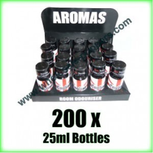 200 x ENGLISH 25ml wholesale Poppers