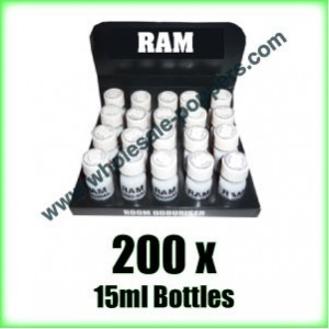 200 x RAM ORIGINAL wholesale poppers