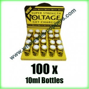 Voltage Poppers wholesale online x 100 bottles
