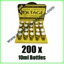 Voltage Poppers wholesale online x 200 bottles