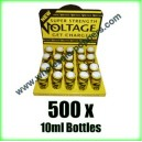 Voltage Poppers wholesale online x 500 bottles