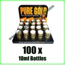 100 x Pure Gold wholesale poppers