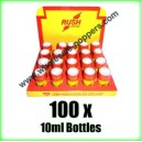 RUSH Poppers wholesale x 100 x 10ml bottles